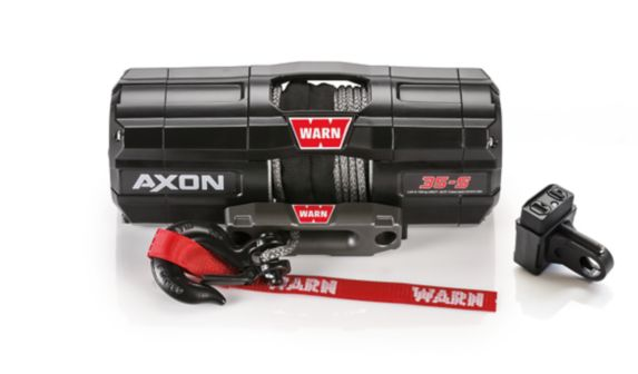 Warn Axon 35-S Synthetic Rope Winch, 3500-lb Product image