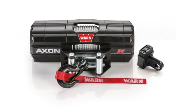 Warn Axon 35 Wire Rope Winch, 3500-lb Product image