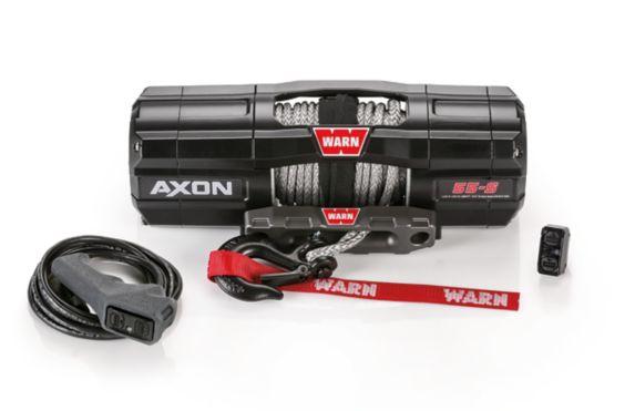Treuil à corde synthétique Axon 55-S Warn, 5500 lb Image de l'article