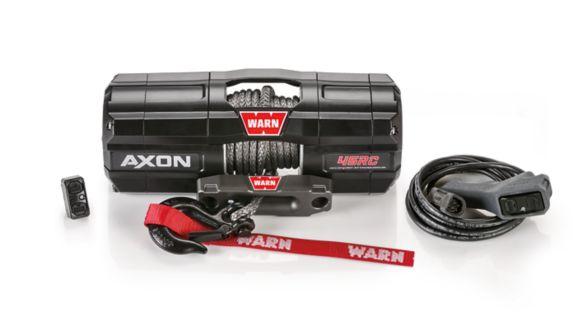 Treuil à corde synthétique Axon 45RC Warn, 4500 lb Image de l'article