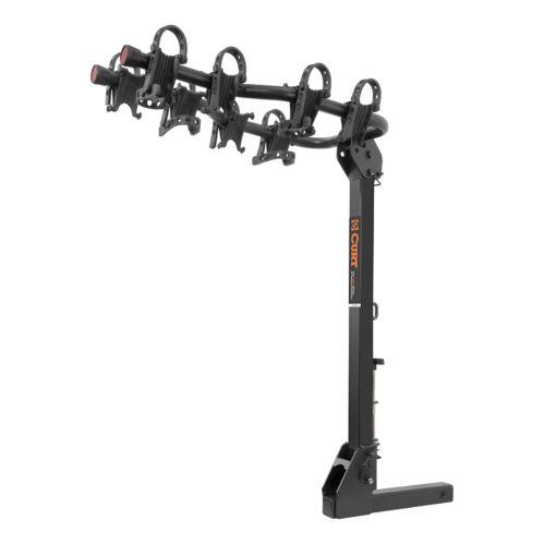CURT Premium Hitch-Mounted Bike Rack (4-Bike, 2-in Shank) Product image