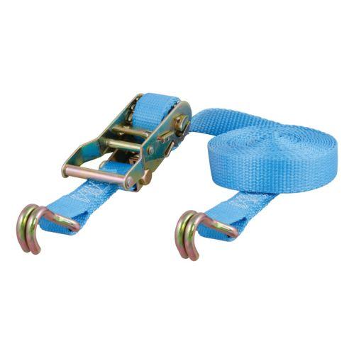 Sangles cargo avec crochet en J CURT, bleu clair 15 pi (3 000 lb) Image de l'article