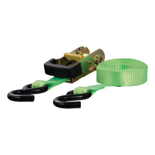 CURT 16-ft Lime Green Cargo Strap with S-Hooks (1,100-lb) Product image
