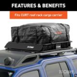 CURT Weather-Resistant Vinyl Roof Rack Cargo Bag | CURTnull