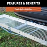 CURT Aluminum Tray-Style Cargo Carrier | CURTnull