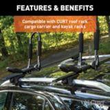 Porte-bagages toit universel, barres transversales aluminium CURT | CURTnull