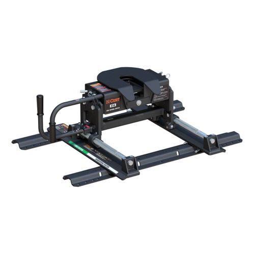 CURT E16 5th Wheel Hitch with Roller & Rails Product image