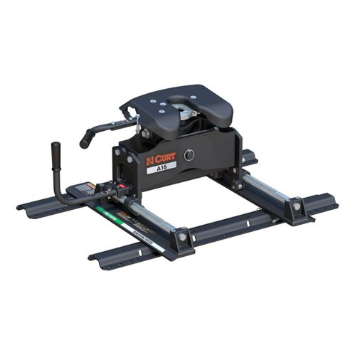 CURT A16 5th Wheel Hitch with Roller & Rails Product image