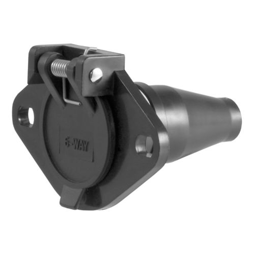 CURT 6-Way Round Connector Socket Product image