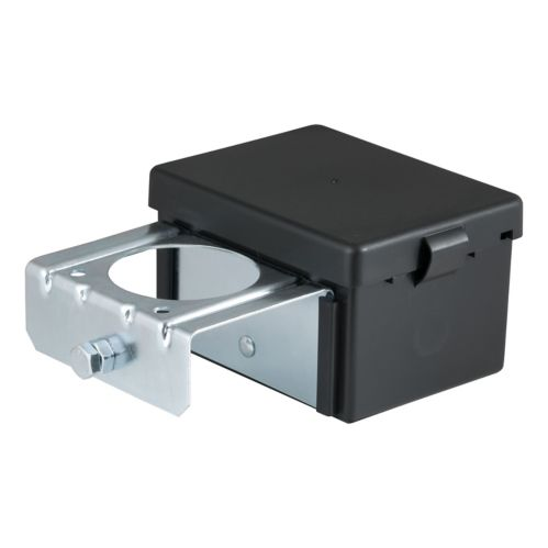 CURT Lockable Battery Case with Metal Bracket, 5-in x 3-1/4-in x 3-7/8-in Product image
