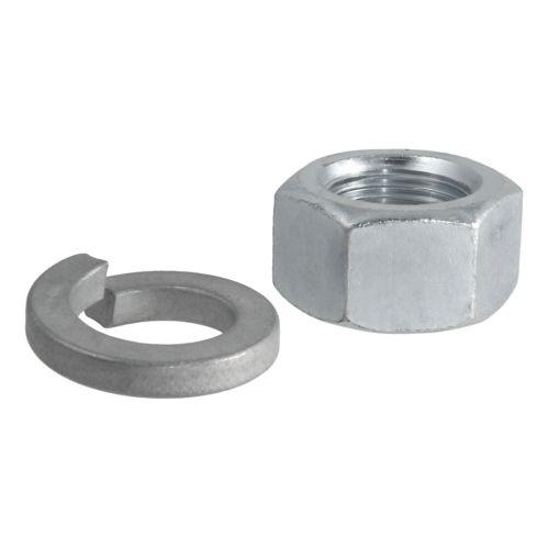 Écrou et rondelle de rechange pour boule d'attelage à tige de 1 po Image de l'article