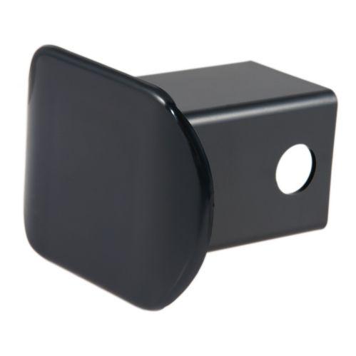 Couvre-attelage en acier pour ouverture 2 po CURT, plastique noir Image de l'article