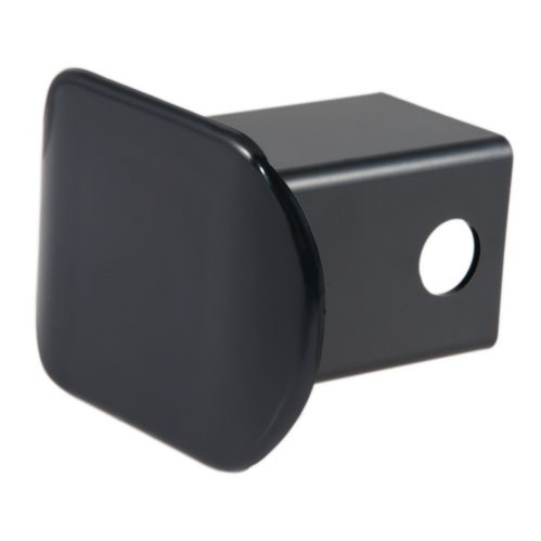 CURT Black Plastic Hitch Tube Cover, 2-in (Packaged) Product image