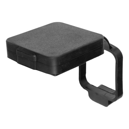 CURT 2-in  Rubber Hitch Tube Cover with 4-Way Flat Holder (Packaged) Product image