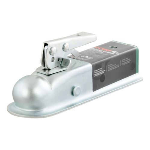 CURT Straight-Tongue Coupler with Posi-Lock, 2-in Product image
