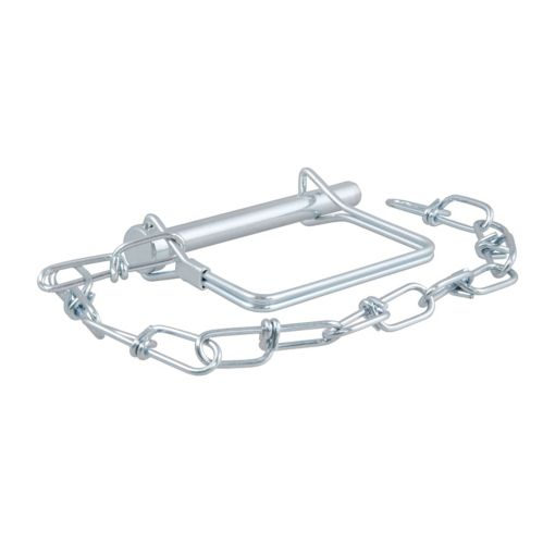 CURT 5/16-in Safety Pin with 12-in Chain (3-in Pin Length, Packaged) Product image