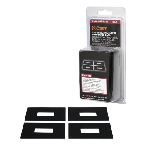 CURT 5th Wheel Rail Sound Dampening Pads (Packaged) Product image