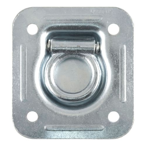 CURT 1-1/2-in x 1-1/2-in Recessed Tie-Down Ring (5000-lb, Clear Zinc) Product image
