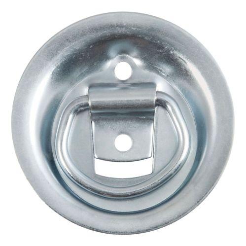 Anneau à attache encastrée CURT, 1 1/8 x 1 5/8 po (1 000 lb, zinc transparent) Image de l'article