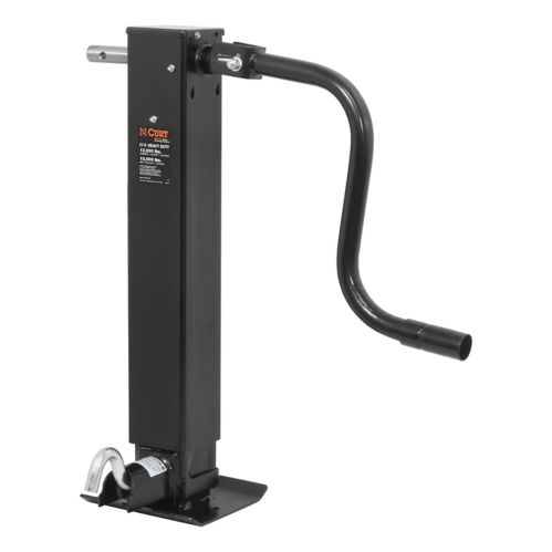 CURT Direct-Weld Square Jack with Side Handle Product image
