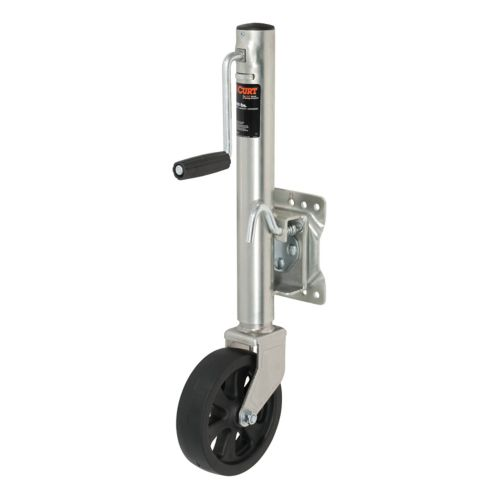 CURT Marine Jack with 8-in Wheel (1,500-lb, 10-in Travel) Product image