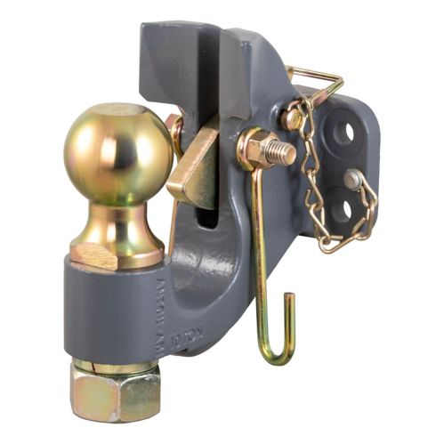 CURT SecureLatch Ball & Pintle Hitch (2-5/16-in Ball, 20,000-lb) Product image