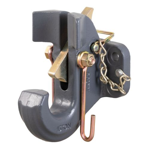 CURT SecureLatch Pintle Hook (30,000-lb, 2-1/2-in or 3-in Lunette) Product image