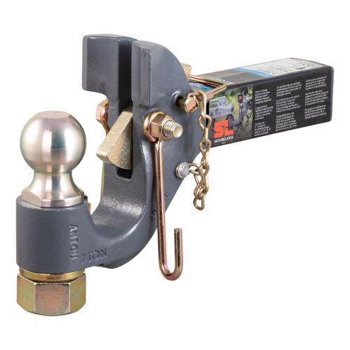 CURT SecureLatch Receiver-Mount Ball & Pintle Product image