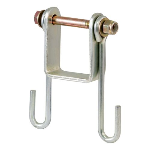 CURT Trailer Safety Chain Holder Bracket (2-in Shank) Product image