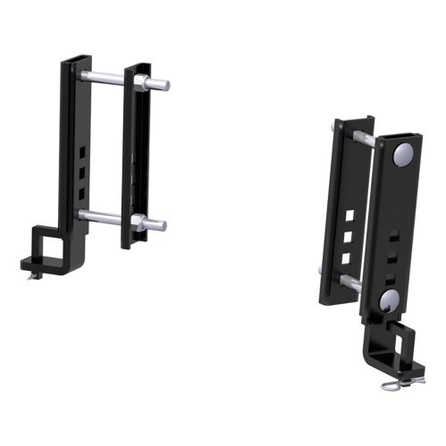 CURT Replacement TruTrack 6-in Adjustable Support Brackets, 2-pk Product image