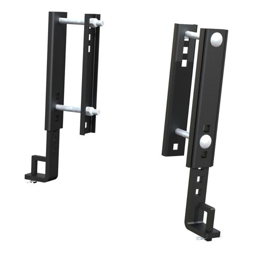 CURT Replacement TruTrack 8-in Adjustable Support Brackets, 2-pk Product image