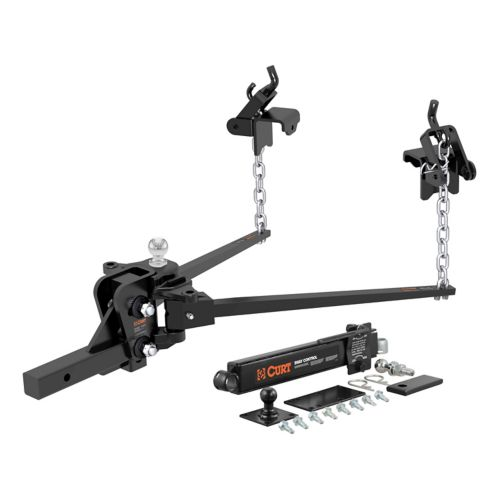 CURT Short Trunnion Distribution Hitch with Sway Control Product image