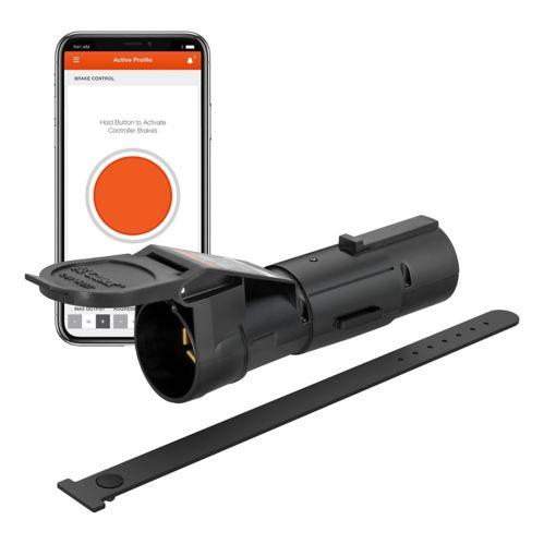 Contrôleur de frein de remorque Echo Mobile CURT, 7 voies, Bluetooth Image de l'article