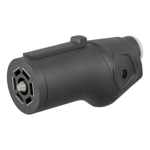 CURT Heavy-Duty 7-Way RV Blade Connector Plug (Trailer Side) Product image