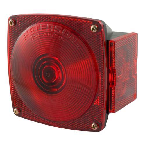 Combinaison, lumière du côté passager sans plaque d'éclairage CURT Image de l'article
