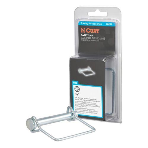 Goupille de sécurité 3/8 po CURT (longueur de goupille 2-3/4 po, emballé) Image de l'article