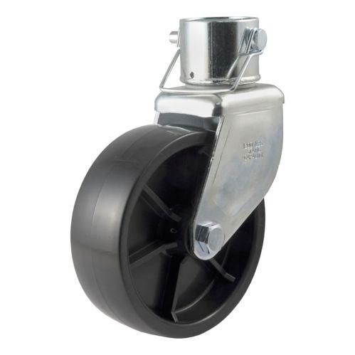 Roulette pour cric CURT, 6 po (convient aux tubes de 2 po, 1 200 lb) Image de l'article