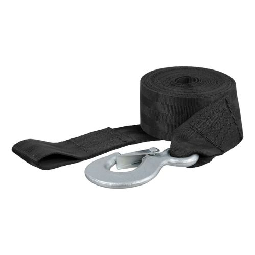 CURT 15-ft Winch Strap with Snap Hook (1,100-lb) Product image