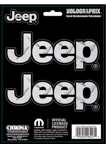 Jeep Holographix Decal Product image