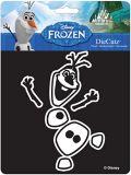 Autocollant d'Olaf de La reine des neiges | Disney Frozennull