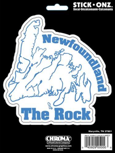 Newfoundland The Rock Decal