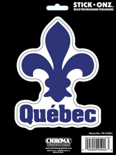 Quebec Fleur De Lis Decal Product image
