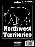 Décalcomanie ours, Territoires du Nord-Ouest | Chromanull