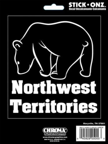 Northwest Territories Bear Decal Product image