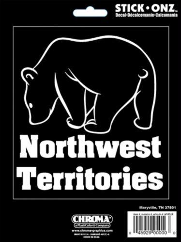 Décalcomanie ours, Territoires du Nord-Ouest Image de l'article