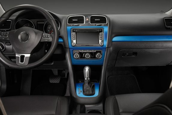 Pellicule adhésive décorative bleu métallique 12x36po type S Image de l'article