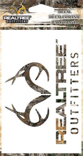 Décalcomanie à logo Realtree, 6 po