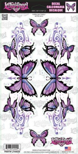 Décalcomanies, papillon mauve, 6 x12 po Image de l'article