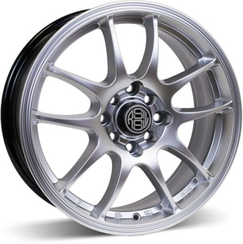 RSSW Velocity Alloy Wheel, Hyper Silver Product image