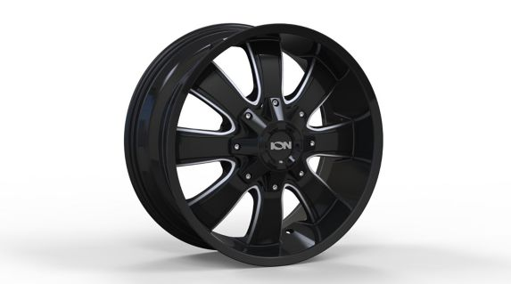 ION Alloy Wheel, Style 189, Black/Milled Product image